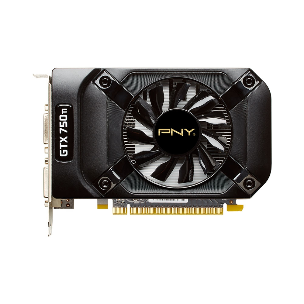 Placa de V�deo Geforce GTX750 Ti OC 2GB DDR5 128Bits VCGGTX750T2XPB - PNY