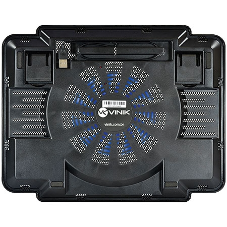 Cooler para Notebook Até 15.6 com Regulagem de Altura e Fan 14cm Air Fresh 23378 - Vinik