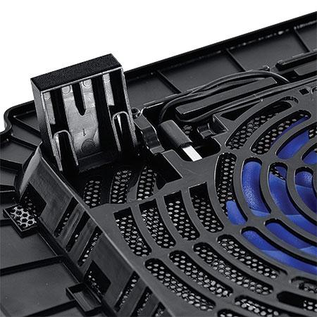 Cooler para Notebook At� 14 com Regulagem de Altura e Fan de 14cm AIRMAX 23377 - Vinik
