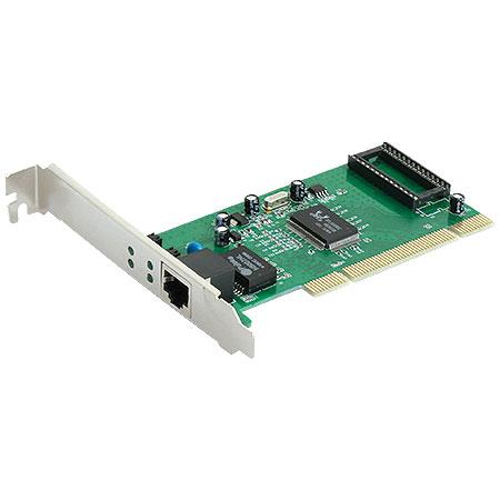 Placa de Rede PCI 10/100/1000mbps PRV-1000 - Vinik