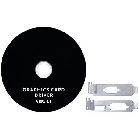 Placa de Vídeo Radeon HD5450 Low Profile 1GB DDR3 64Bits PS54506401D3LP - Pcyes