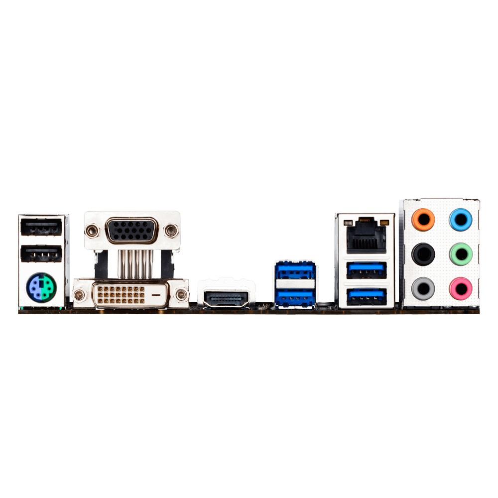 Placa Mãe LGA 1151 GA-H170M-D3H DDR3 Dual Bios - Gigabyte