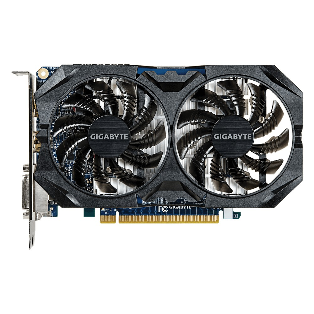 Placa de Vídeo Geforce GTX750 Ti 2GB DDR5 128Bits GV-N75TOC2-2GI - Gigabyte