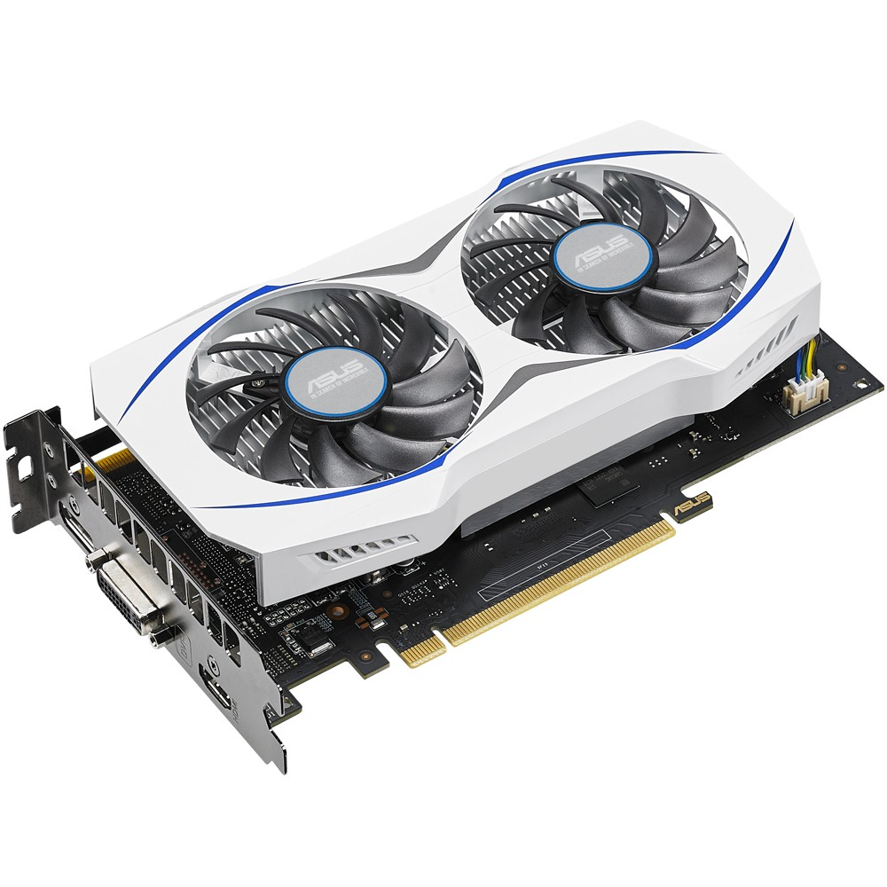 Placa de Vídeo Geforce GTX950 2GB DDR5 128Bits 90YV08V7-M0NA00 - Asus