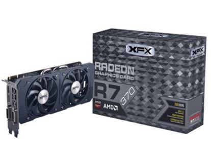 Placa de V�deo AMD Radeon R7 370 2GB DDR5 256Bits R7-370P-2DF5 - XFX