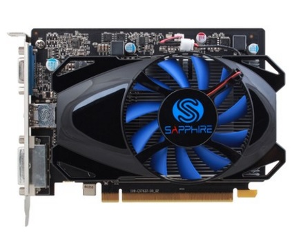 Placa de Vídeo AMD Radeon R7 250 2GB DDR5 512Stream Processors Edition 11215-20-20G - Sapphire