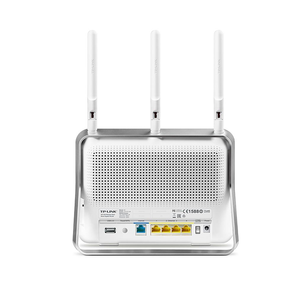 Roteador Wireless 4 Portas Dual Band AC1750 C8 - Tplink