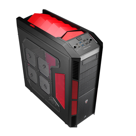 Gabinete ATX Xpredator Devil Red Window EN52436 - Aerocool