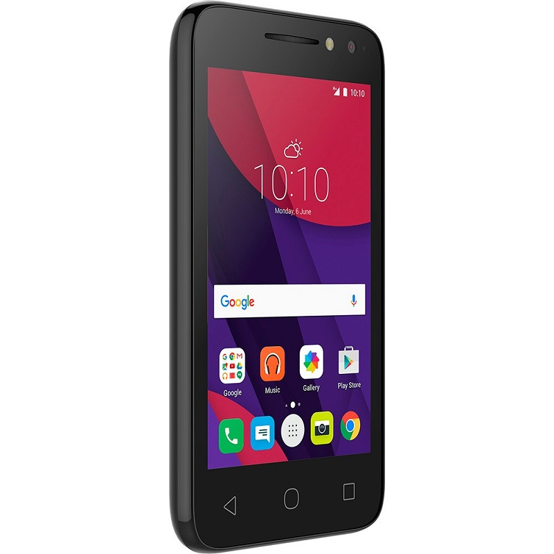 Smartphone PIXI 4 4034E Colors, Android 6.0, Tela 4, 8MP, 8GB, Dual Chip Preto - Alcatel