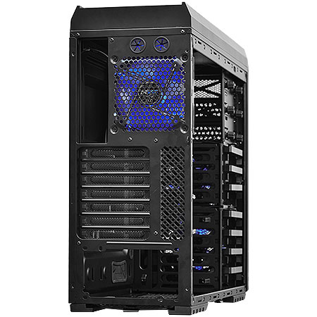 Gabinete Mid Tower Bizon Lateral em Acrilico Hot-Swap led Azul BIZONPTOAZ5FCA 21492- PCyes