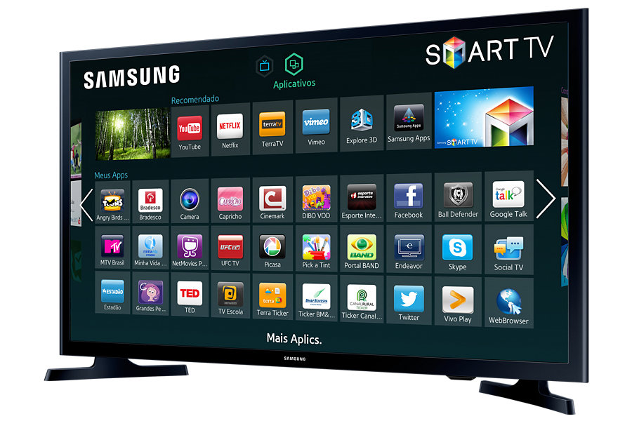 Smart TV LED 32 UN32J4300AGXZD HD com Conversor Digital 2 HDMI 1 USB Wi-Fi 120Hz - Samsung