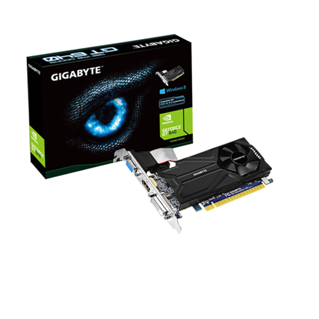 Placa de Video GeForce GT640 1GB DDR5 Low Profile GV-N640D5-1GL - Gigabyte