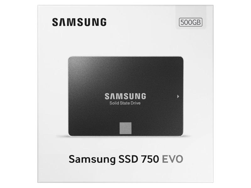 SSD 500GB EVO 750 Series MZ-750500BW - Samsung
