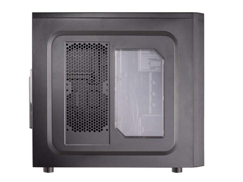 Gabinete Solution 2 Black Window 5MMG - Cougar