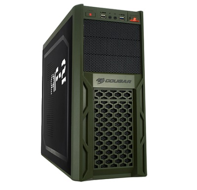 Gabinete ATX sem Fonte Solution AF-2 67M3 USB 3.0 - Cougar