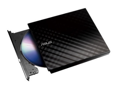 Gravadora de DVD-RW Externa Stylish Diamond 8X SDRW-08D2S-U/BLK/G/AS - Asus