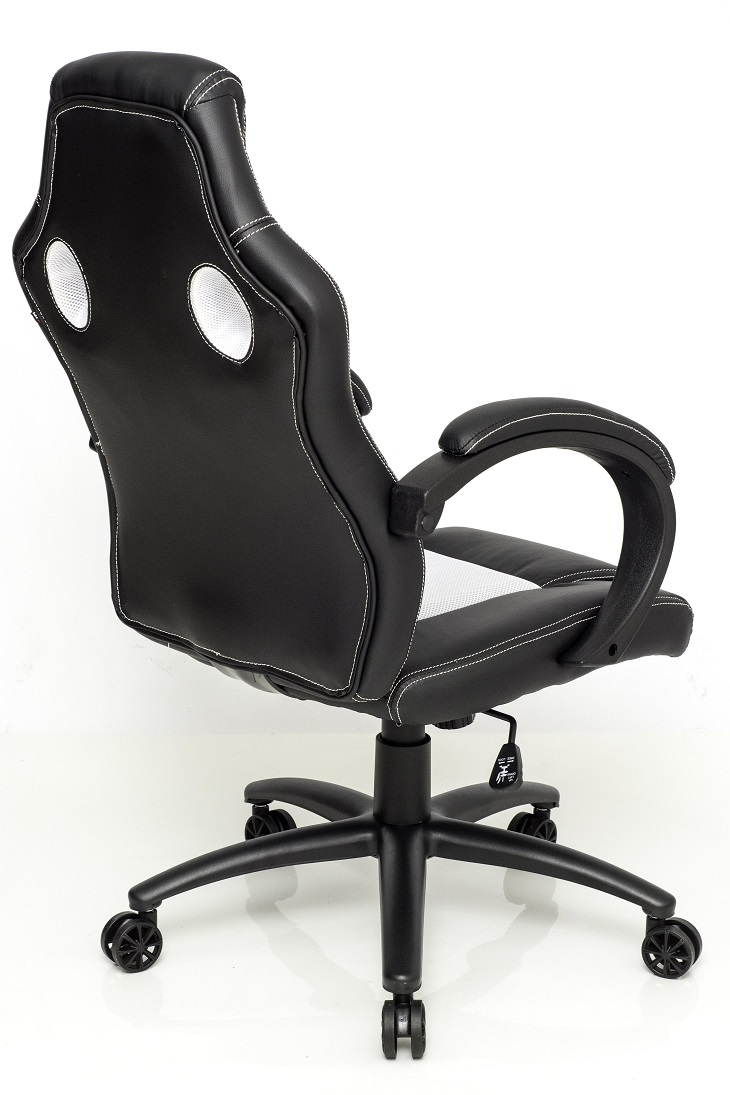 Cadeira Gamer GT Black White 10298-0 - DT3 Sports