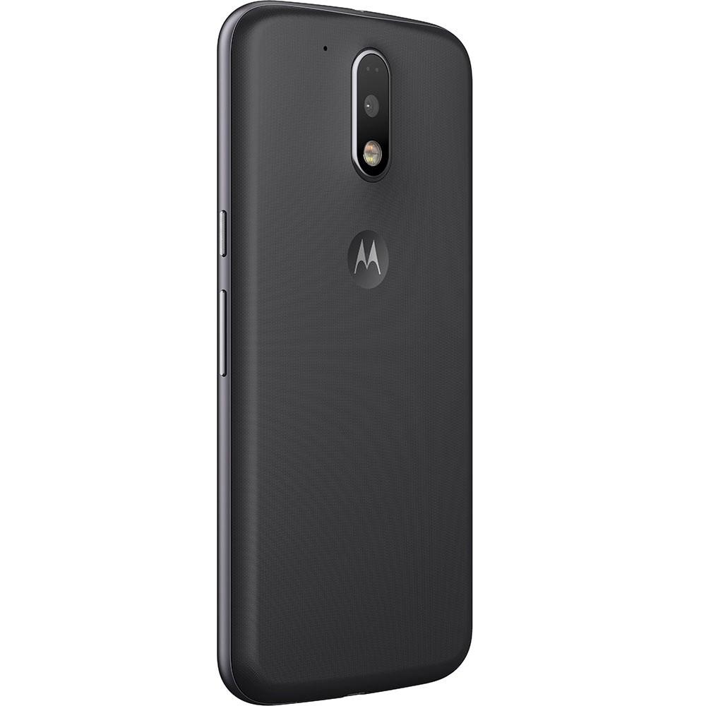 Smartphone Moto G 4 Geração Plus XT1640 Octa Core, Android 6.0, Tela 5.5, 32GB, 16MP, 4G, Preto - Motorola
