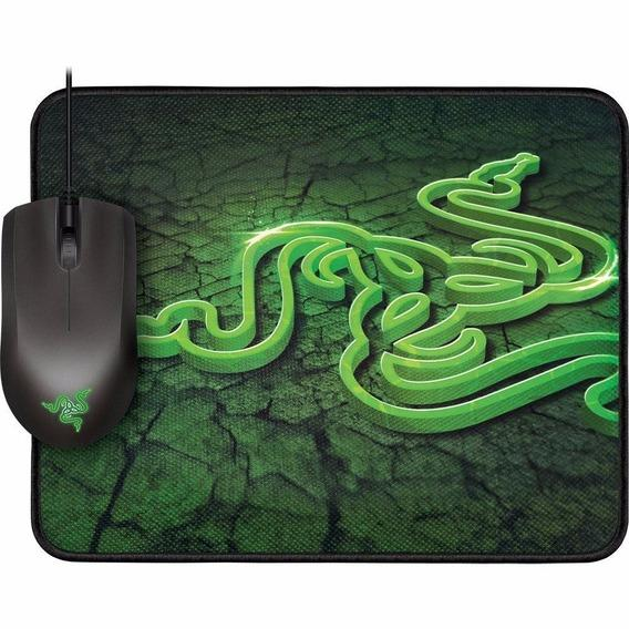 Combo Mouse Abyssus 1800 DPI + Mousepad Goliathus Small Control RZ84-00360300-B3C1 - Razer