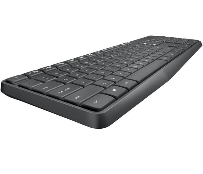 Teclado e Mouse Sem Fio MK235 - Logitech