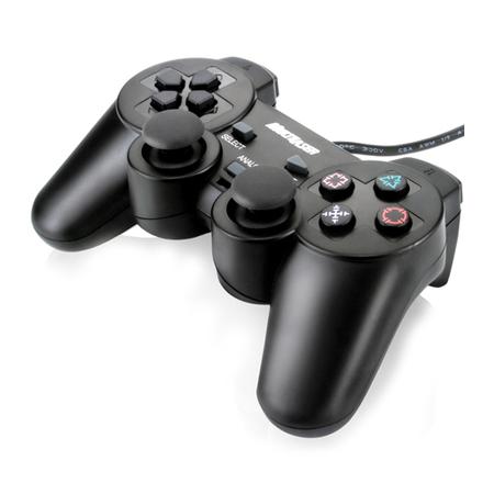 Controle Dualshock Preto JS030 para PC - Multilaser
