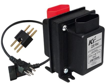 Auto Tranformadores com Proteção Térmico QTRF0456 2000VA BIV - KF