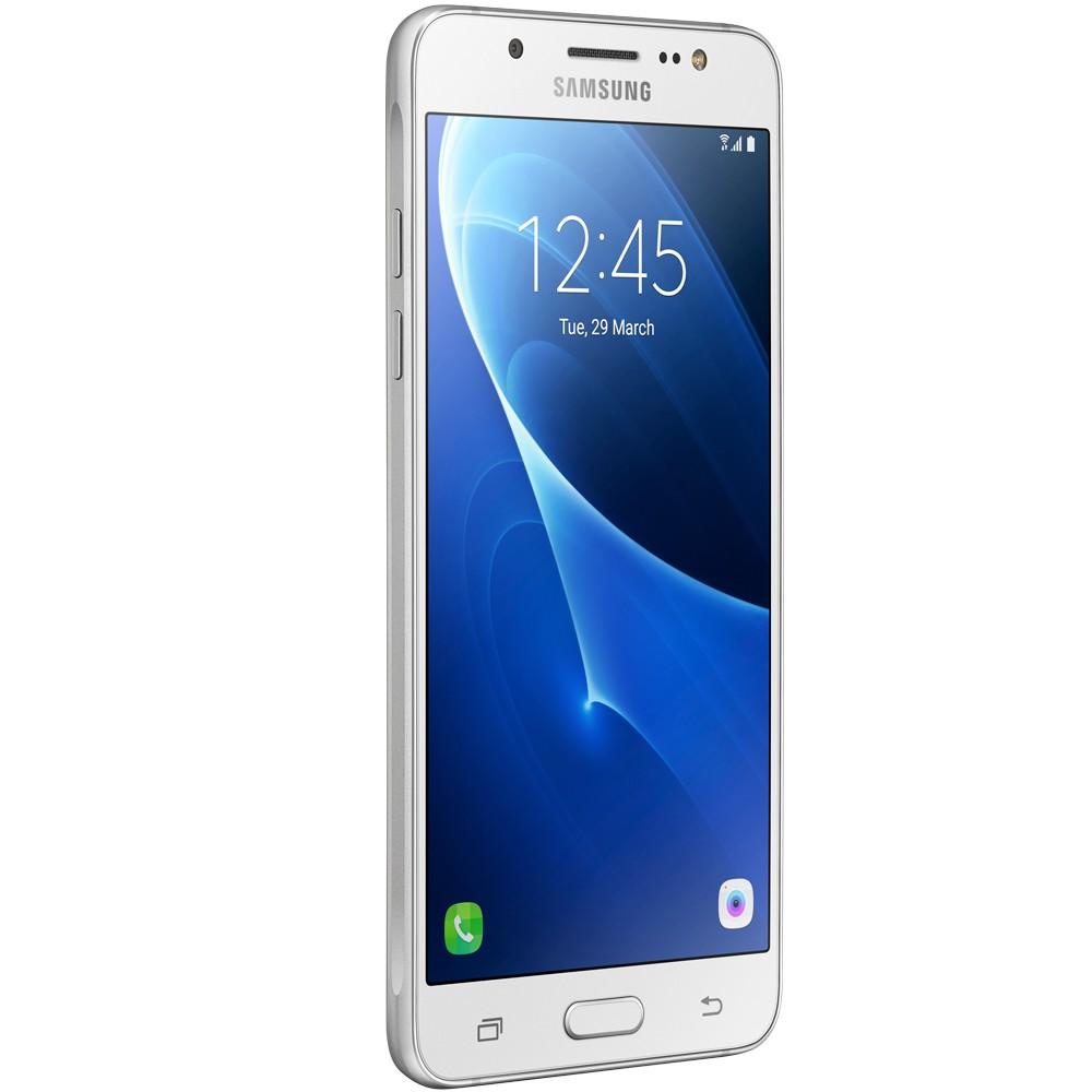Smartphone Galaxy J5 Metal SM-J510MN/DS, Quad Core 1.2Ghz, Android 6.0, Tela 5.2, 16GB, 13MP, 4G, Dual Chip, Branco - Samsung