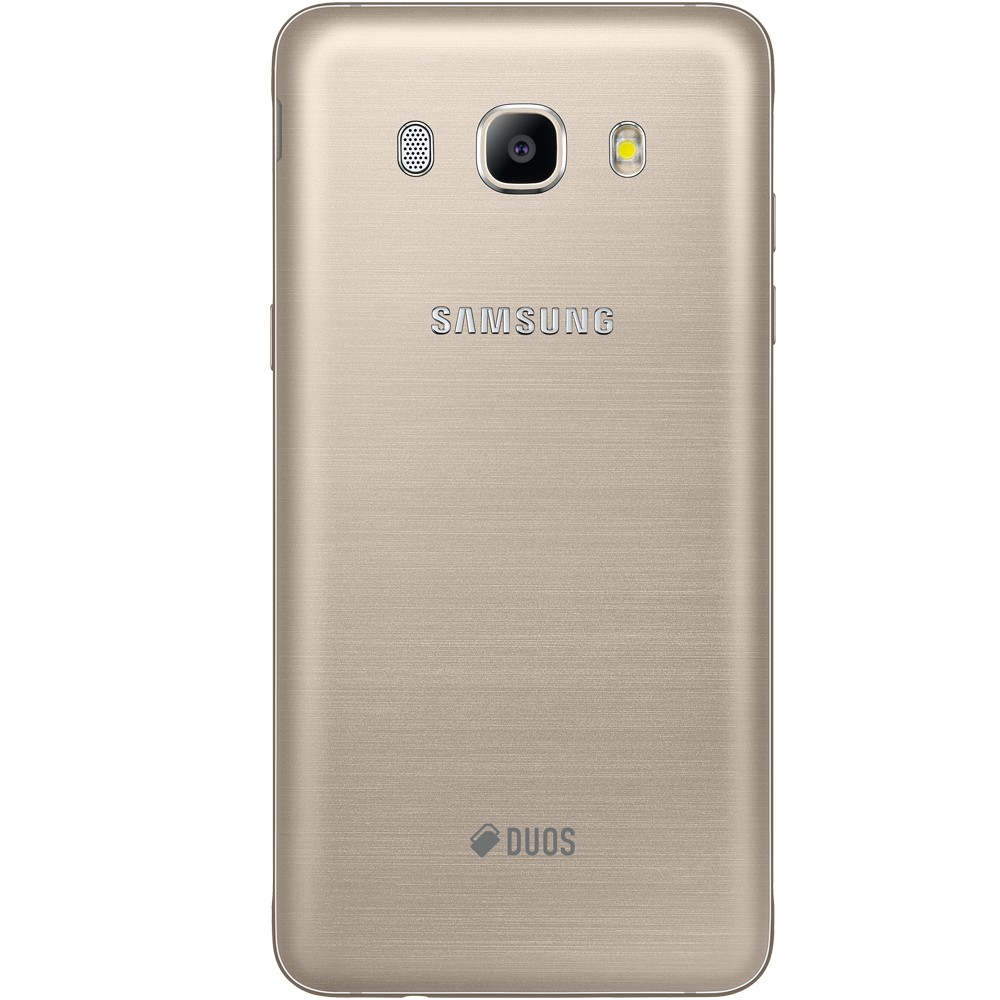Smartphone Galaxy J5 Metal SM-J510MN/DS, Quad Core 1.2Ghz, Android 6.0, Tela 5.2, 16GB, 13MP, 4G, Dual Chip, Dourado - Samsung