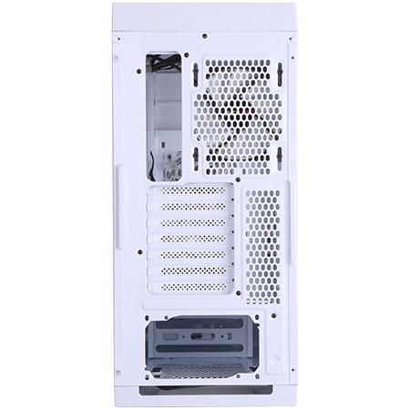 Gabinete Mid Tower Polar Bear com lateral Acrílico Branco 24563 - Pcyes