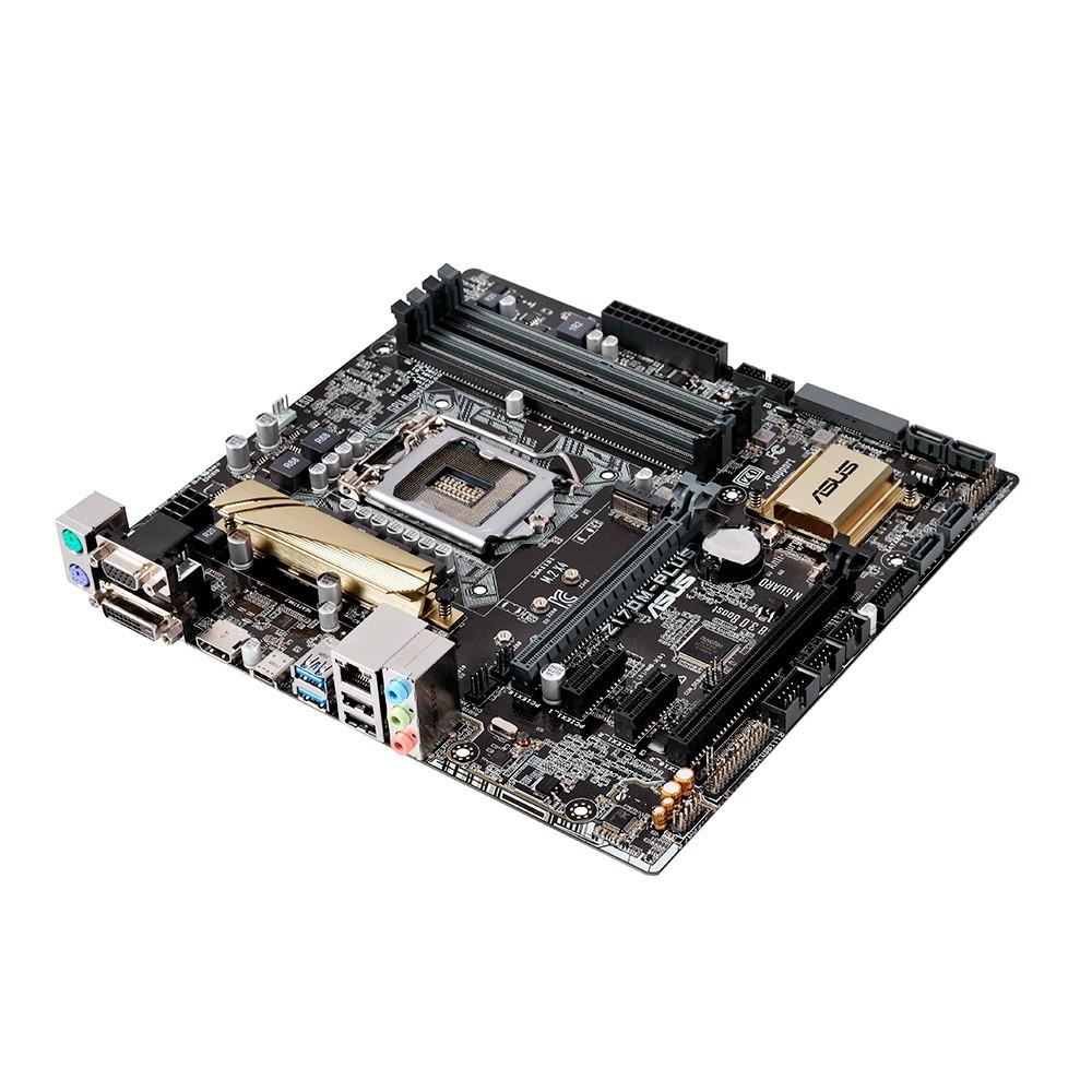 Placa-Mãe LGA 1151 Z170M-PLUS/BR, 4xDDR4, HDMI/DVI/DVI-D/RGB - Asus