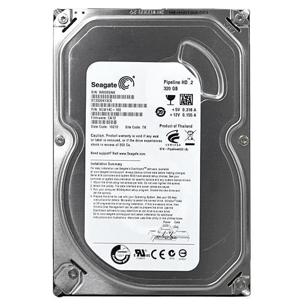 Hard Disk 3.5 320GB Sata II ST3320413CS  - Seagate