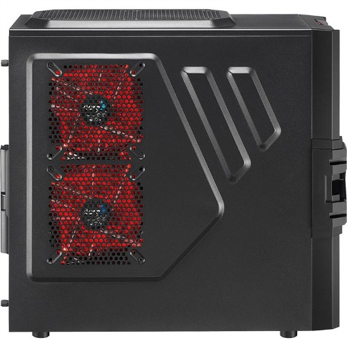 Gabinete Strike-X One Advanced Black sem Fonte EN58377 - Aerocool