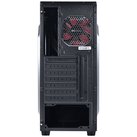 Gabinete Mid Tower Chacal Vermelho CHACALPTOVM2FCA 24559 - Pcyes