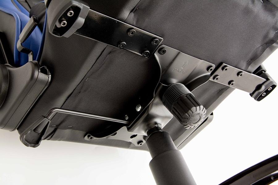 Cadeira Modena Black Blue 10501-7 - DT3 Sports