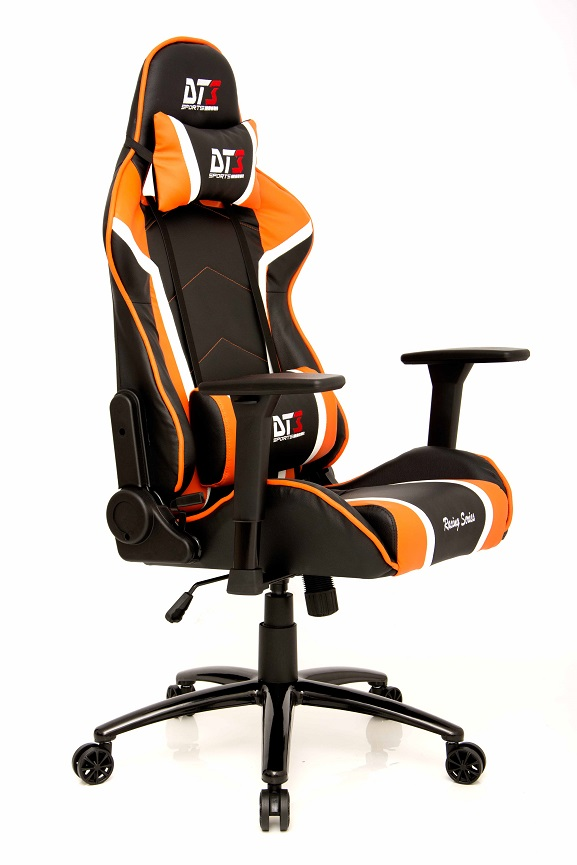 Cadeira Modena Black Orange 10503-9 - DT3 Sports
