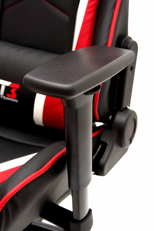 Cadeira Modena Black Red 10504-0 - DT3 Sports