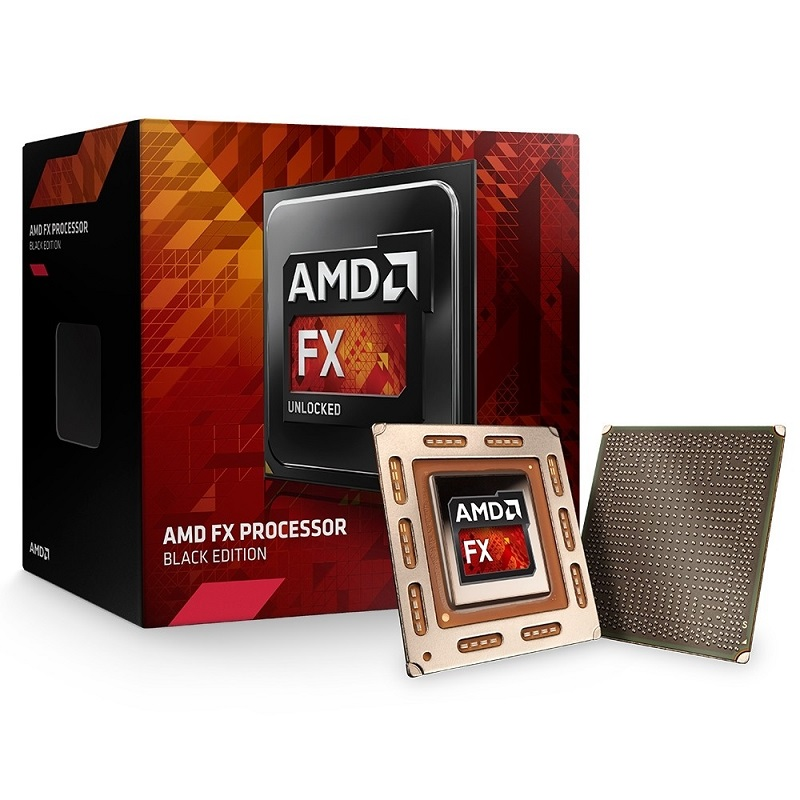 Processador AM3+ FX-6300, Black Edition, Cache 8MB, 3.5GHz (4.1GHz Max Turbo),  FD6300WMHKBOX - AMD