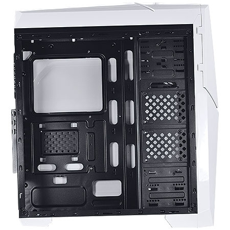 Gabinete Mid Tower Cyclone VX Gamer Branco 22608 - Vinik