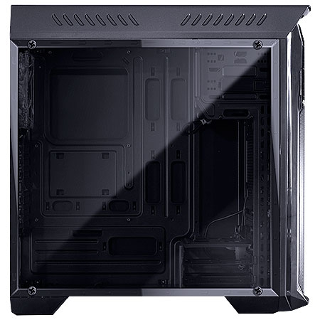 Gabinete Mid Tower Samurai Fan Led Azul, Lateral em Acrílico SAMPTOAZ3FCA  25126 - Pcyes