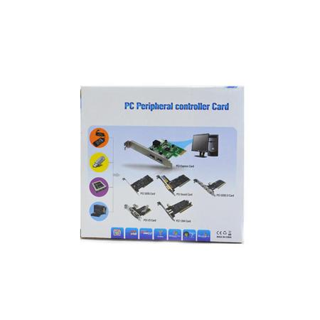 Placa de Som PCI-Express com 5 Canais PC0041 - OEM