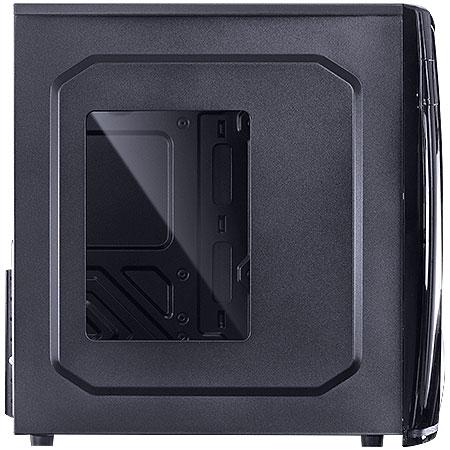 Gabinete Mid Tower VX Gaming Eclipse V2 Preto USB 3.0 Janela Acrílica 25337 - Vinik