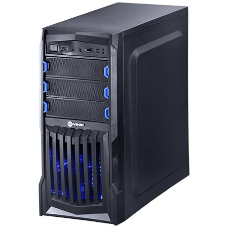 Gabinete Mid Tower VX Gaming Thunder V2 Preto USB 3.0 e Janela Acrílico 25344 - Vinik