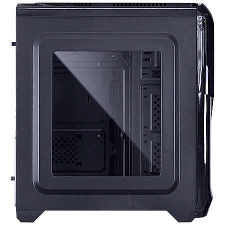 Gabinete Mid Tower VX Gaming Twister V2 Preto Fan Vermelho USB 3.0 25349 - Vinik