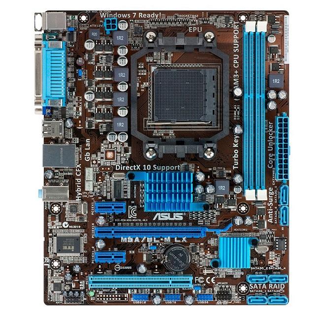 Placa M�e AM3+ M5A78L-M LX/BR DDR3 Porta Paralela e Serial 6 Sata, Rede Gigabit - Asus