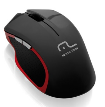 Mouse Wireless XGamer 2.4Ghz Super Laser MO172 3200Dpi - Multilaser