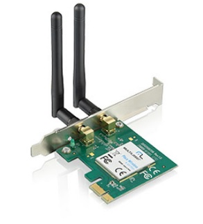 Placa de Rede PCI Express Wireless 300Mbps RE049 - Multilaser