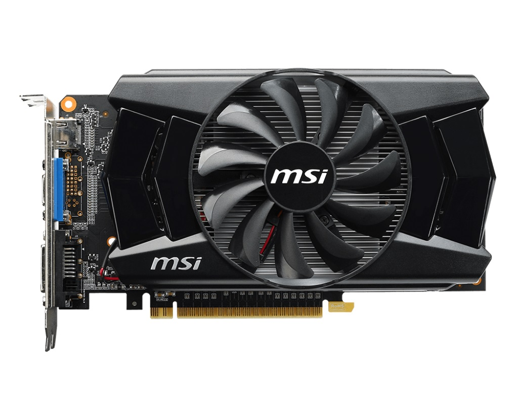 Placa de Vídeo Geforce GTX750 Ti 2GB DDR5 128Bits N750TI-2GD5/OC - MSI