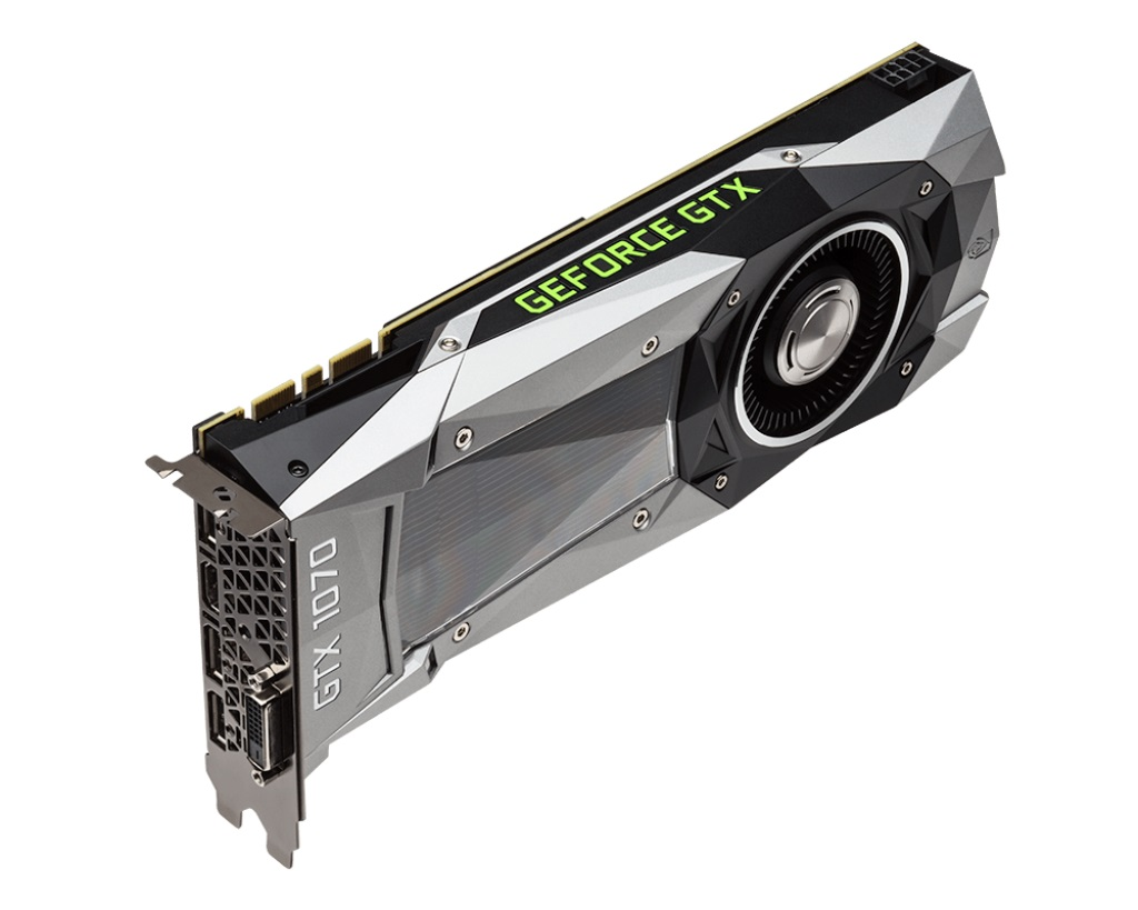 Placa de Vídeo Geforce GTX 1070 Founders Edition 8GB DDR5 - MSI