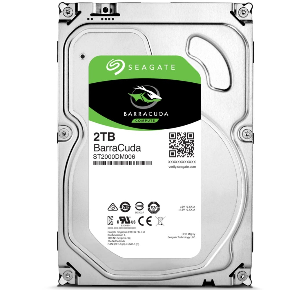 Hard Disk Barracuda 2TB 7200RPM 64MB Sata III ST2000DM006 - Seagate