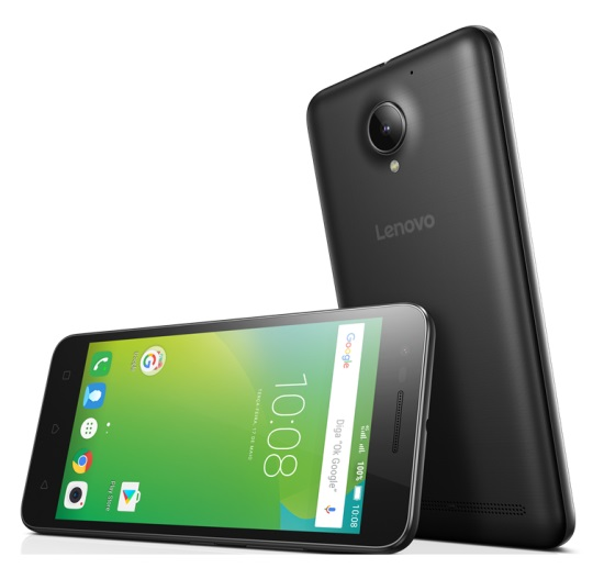 Smartphone Vibe C2 K10A40 Preto 4G Tela 5 Andoird 6.0 Marshmallow Câm 8MP Dualchip 16GB - Lenovo